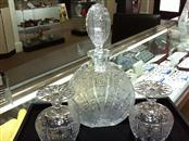 CESKA Crystal Decanter/Glasses